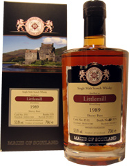 Littlemill 1989 - Malts of Scotland