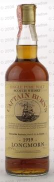 Longmorn 1959 - Captain Burn's