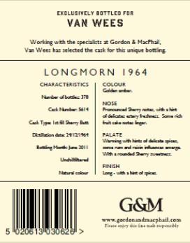 Longmorn 1964 - Gordon & MacPhail