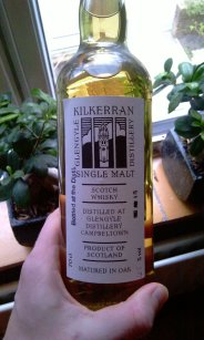 Kilkerran bottled on the Springbank Open Day 2009, 48.5%
