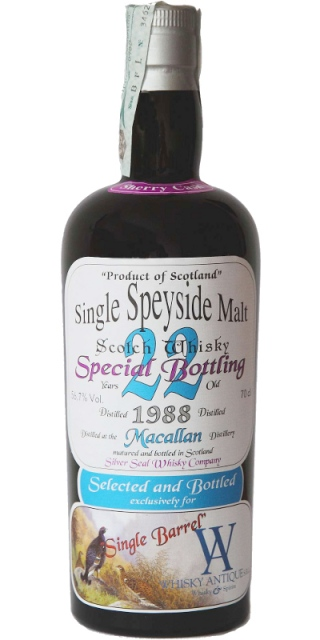 Macallan 1988 - Silver Seal