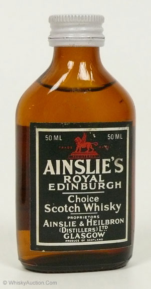 Ainslie's Royal Edinburgh Choice Scotch Whisky
