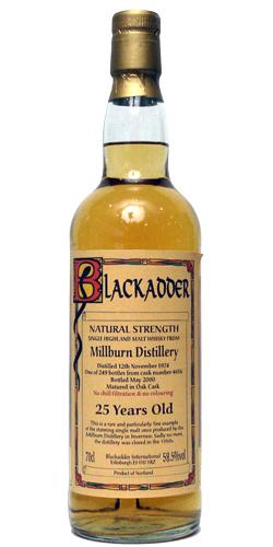 Blackadder Millburn 1974-2000