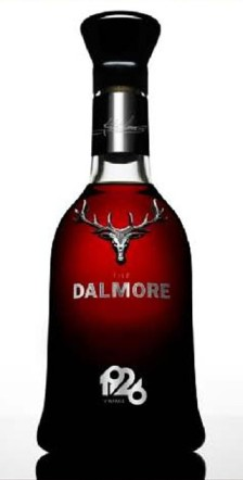 The Dalmore Brilliance, available at Schiphol Airport for € 250,000