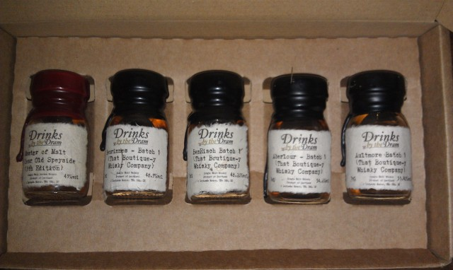 The four new first batch releases and the new 30yo Speyside