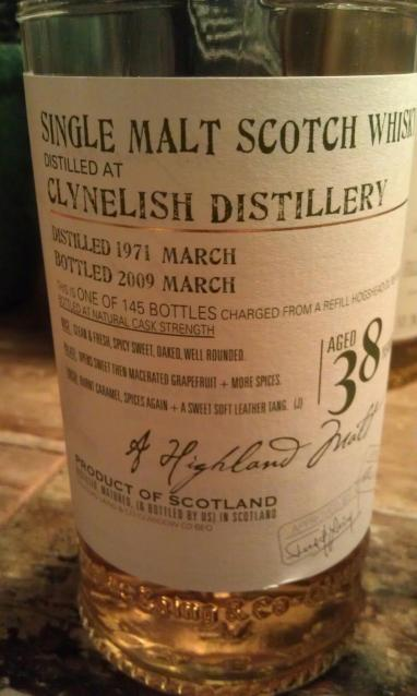 Clynelish 38 - Old Malt Cask