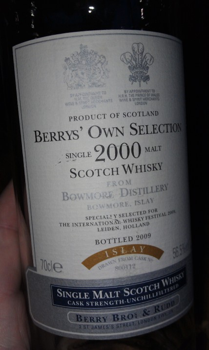 Bowmore 2000-2009, Berry Brothers & Rudd