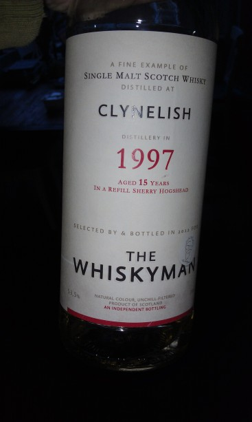 Clynelish 1997 by The Whiskyman