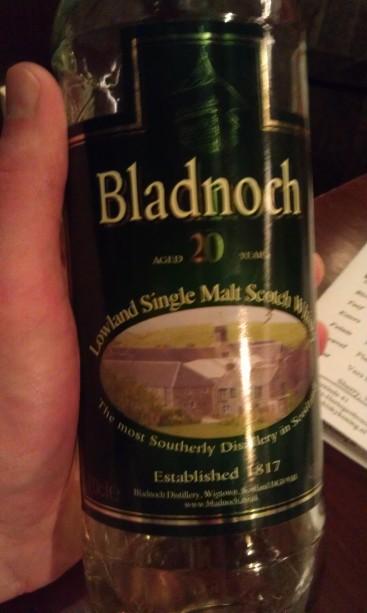 Bladnoch 20 at De Whiskykoning