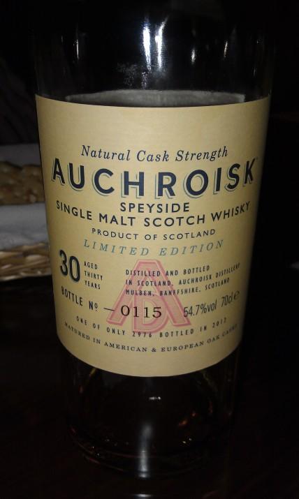 Auchroisk 30