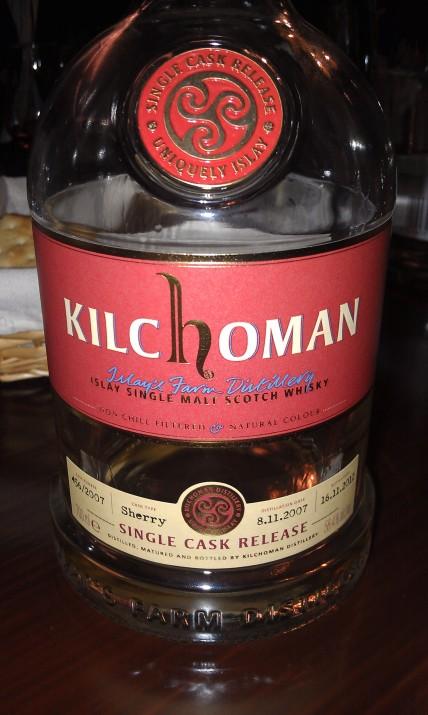 Kilchoman 2007-2012