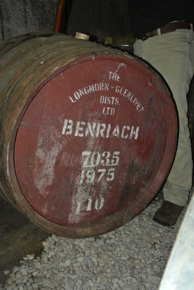 BenRiach 1975, straight from the cask