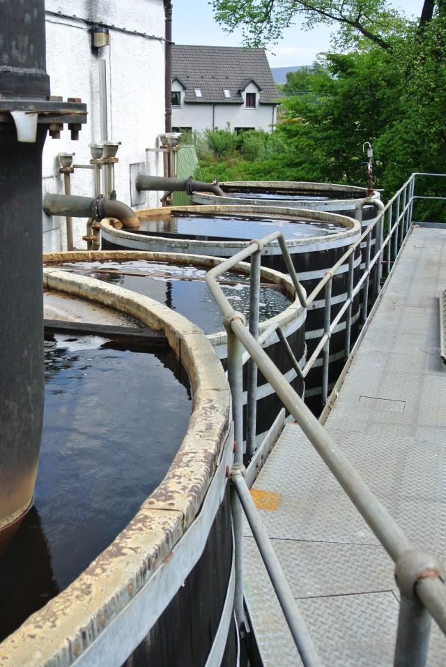 The worm tubs at Talisker