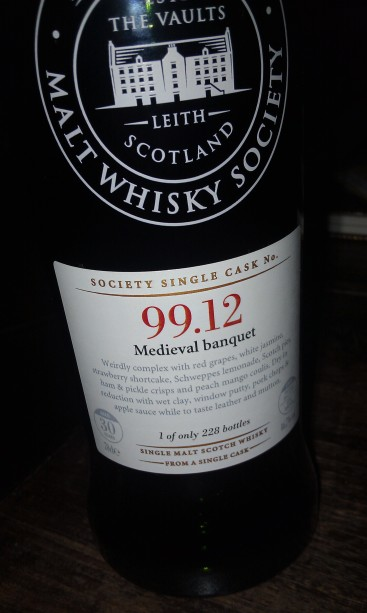 Medieval Banquet by the SMWS