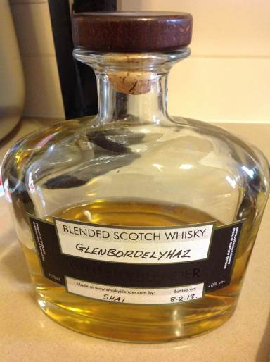 Shai's go at whiskyblender