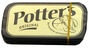 Potters Original. A very Dutch cough sweet