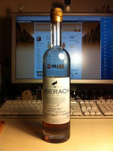 Uberach whisky from Distillerie Bertrand. The Whisky Live Paris 2013 edition