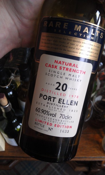 Port Ellen 1978-1998 from the Rare Malts Selection