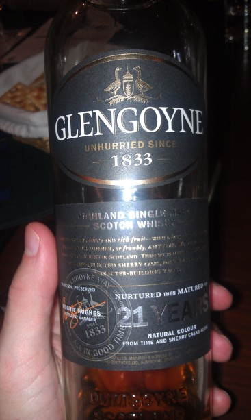 The new Glengoyne 21 year old