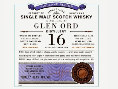Glen Ord 16. Old Particular