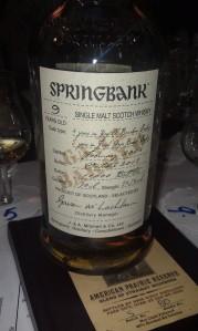 Springbank Gaja Barolo. Meh