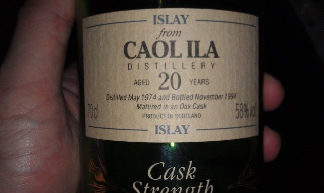 Caol Ila. Good on the nose, didn't like it much after that