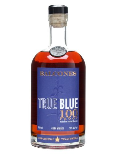 Balcones True Blue. Yes, it's the wrong version. This is the 100 proof.