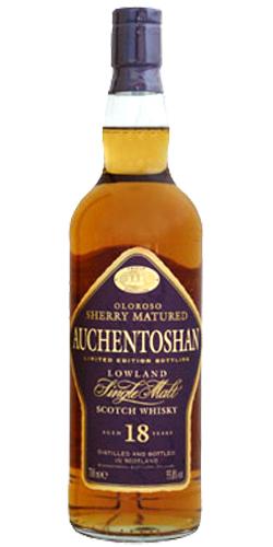 Auchentoshan 18 Oloroso cask. Image from Whiskybase