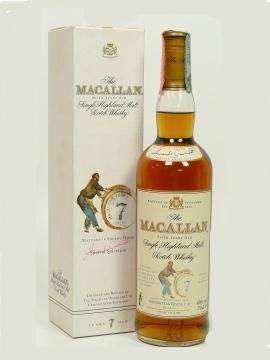 Macallan 7yo. Image from Passie voor Whisky