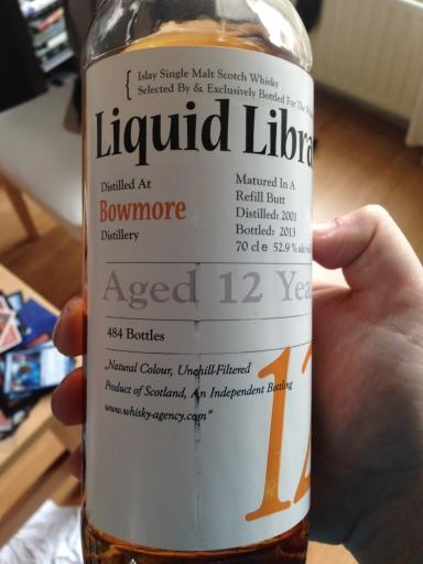 Bowmore 12. Liquid Library