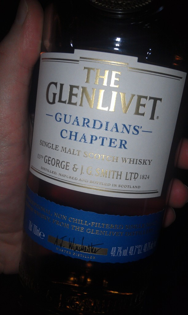 Glenlivet Guardians' Chapter. Yes.