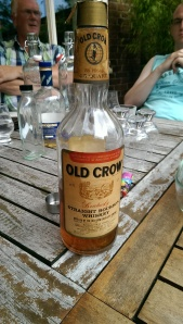Old Crow, bottled in 1970. Pretty kick-ass bourbon.