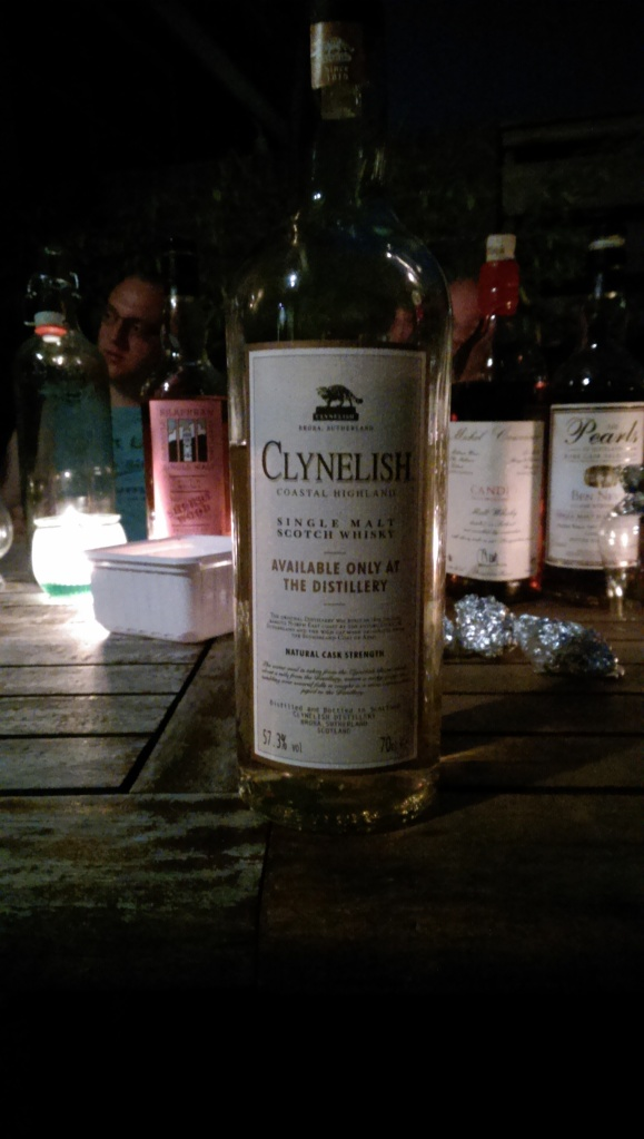 Clynelish Distillery Only. The overall winner of the night?