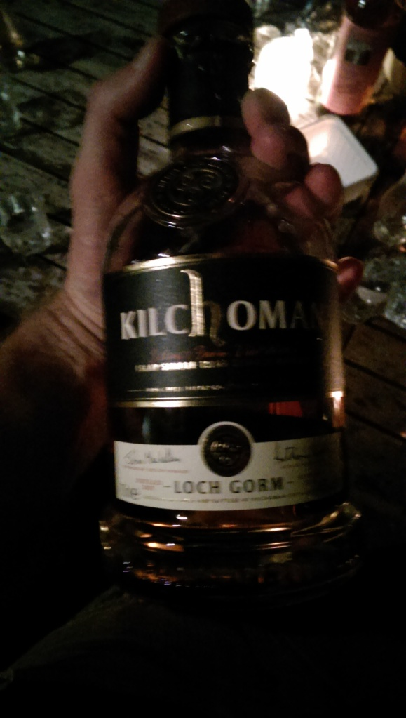 Kilchoman Loch Gorm #1. We kept pushing the peat back. It is lovely.