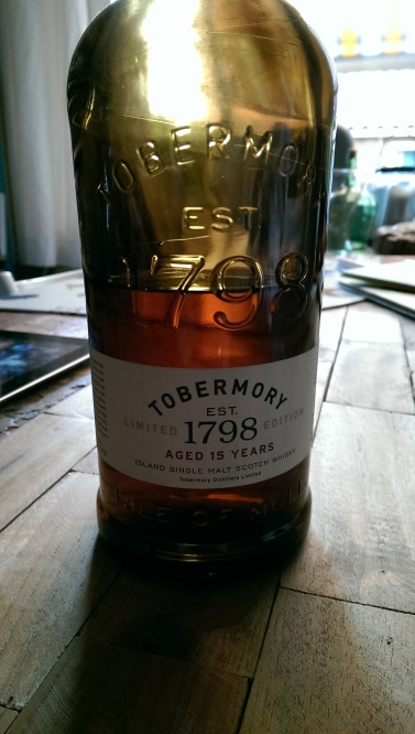 Tobermory 15, available from Master of Malt