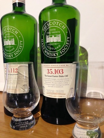 Glen Moray 29 from the SMWS