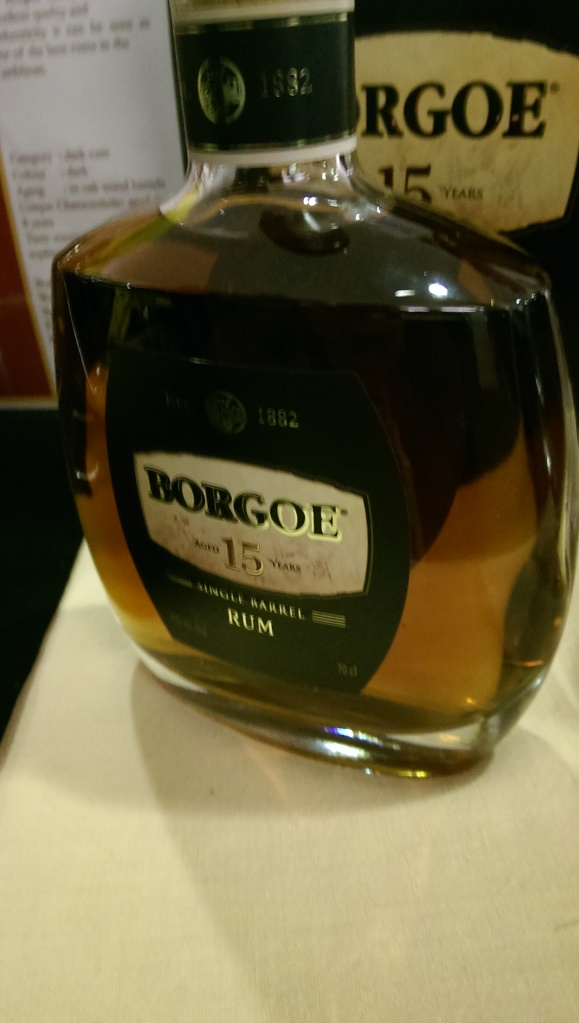 Borgoe rum from Suriname. Pretty good, pretty spicy