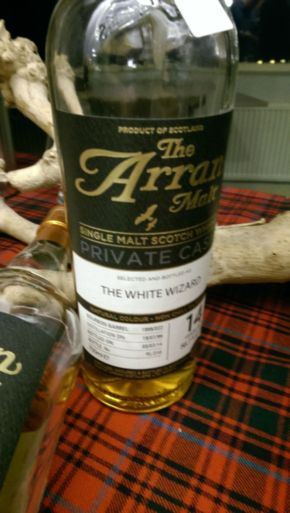 Arran White Wizard. Great stuff, but so popular it never hit the shelves
