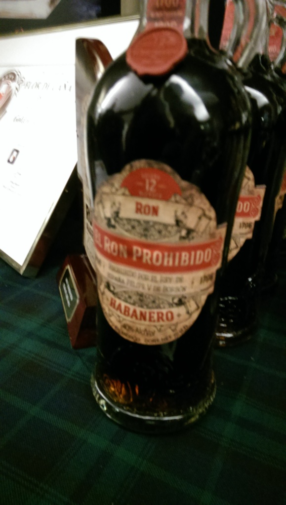Ron Prohibido. Buttery on the nose, and the palate, and the finish. Just not it.