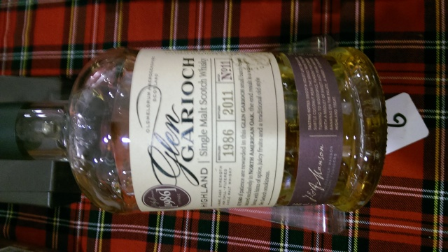 Glen Garioch 1986. Good, but not strong enough to combat the sugar rush we were having. Wrong time.