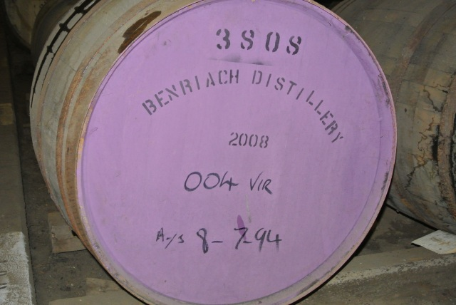 BenRiach Virgin Oak cask 3808