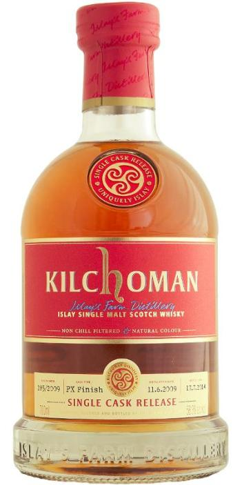 Kilchoman PX finish by Abbey Whisky