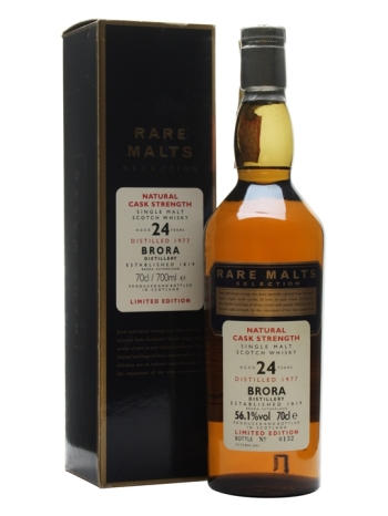 Brora 1977 from the Rare Malts