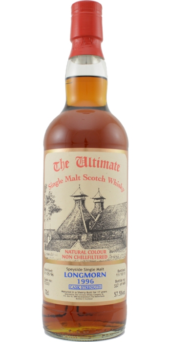 Longmorn 17 by Van Wees. Image from Whiskybase