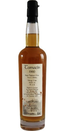 Tomatin 24 by Getränke Weiser. (Image from Whiskybase)