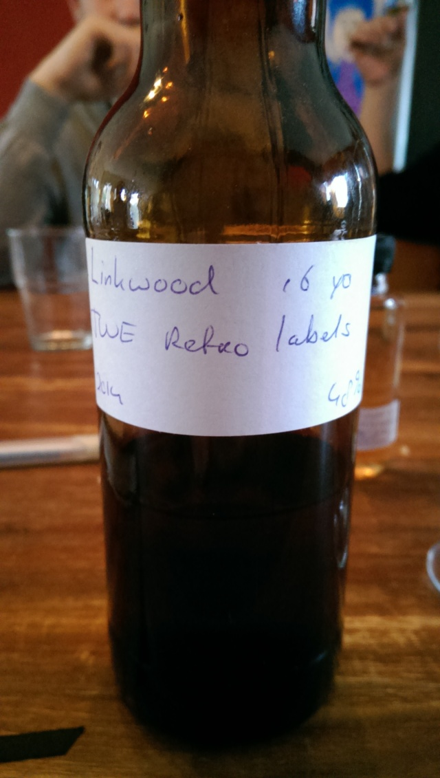 My Linkwood 16 from TWE. Pretty good, if I may say so.