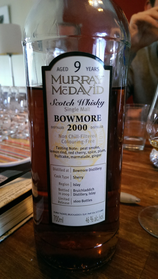 A fairly young, but unexpectedly good Bowmore from folks who regularly screw up bottlings.