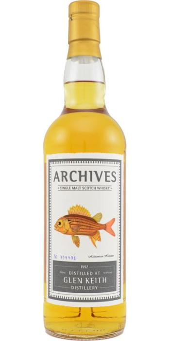 Glen Keith 21 by Archives. Image from Whiskybase