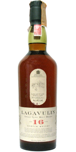 Lagavulin 16 White Horse. Image from Whiskybase