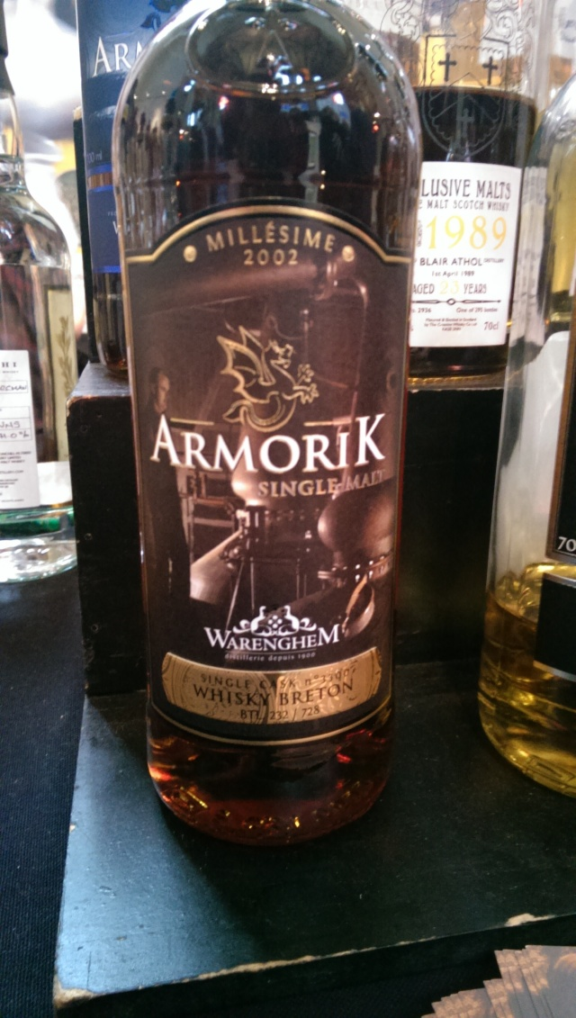 I knew I liked Armorik's Millesime, this was just to prove a point. Great stuff.